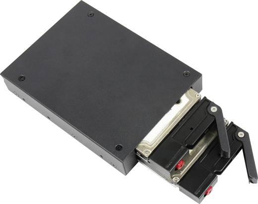 """Merevlemez beépítő keret 2 x 2,5""""-os HDD/SSD-hez, Renkforce HY-MR-6201"""