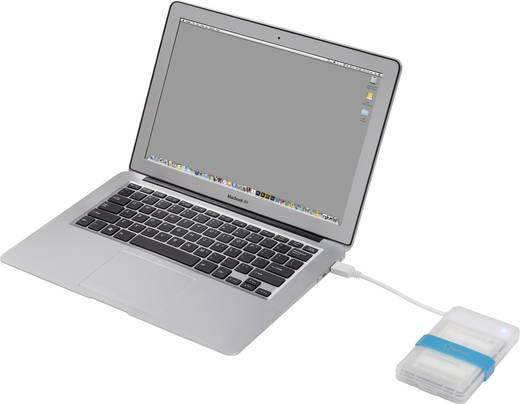 """SATA merevlemez ház, 2,5 """" renkforce T2501III(X1) USB 3.0"""