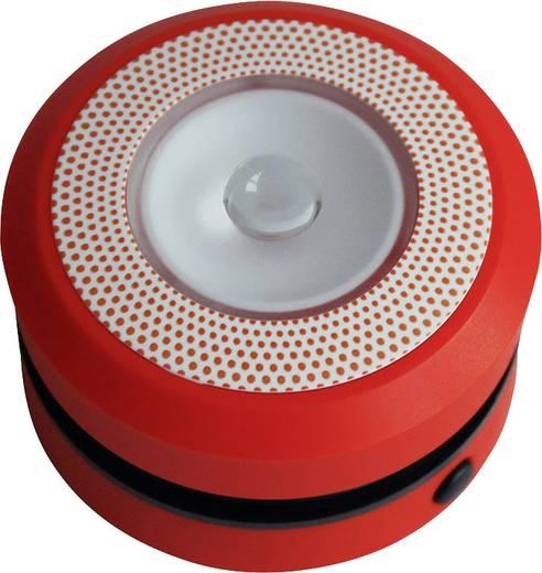 LED-es kemping lámpa, elemes, 160 g, piros, Eufab 13497
