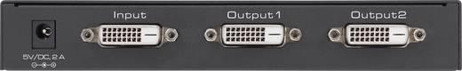 2 portos DVI elosztó, Ultra HD képes 3648 x 2160 pixel, fekete, SpeaKa Professional