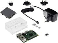 Raspberry Pi® 3 B modell, kijelző készlet 1 GB (RF-2860742) Renkforce