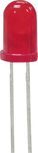 LED kivezetéssel Piros Kerek 5 mm 200 mcd<br