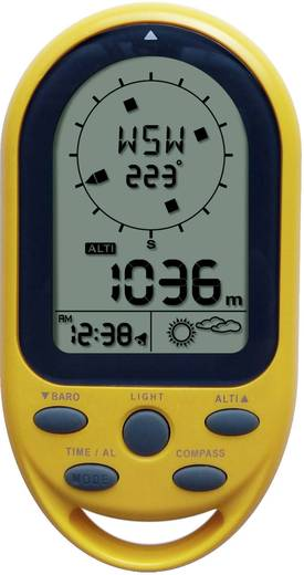 Digitális magasságmérő barométerrel és iránytűvel, Techno Line Altimeter 05486EA 3050