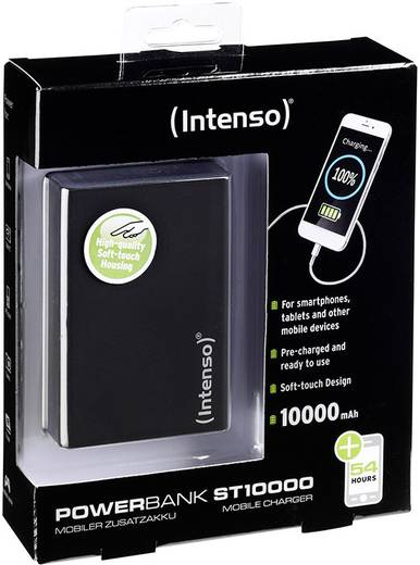 Powerbank Intenso Softtouch ST 10000 Lítiumion