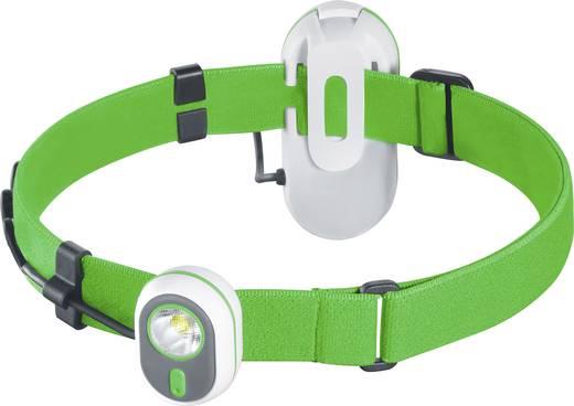 LED-es fejlámpa, elemes, zöld, Alpina Sport AS01 3.7208