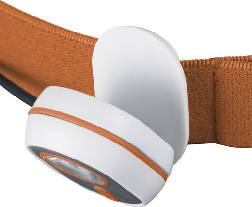 LED-es fejlámpa, elemes, narancs, Alpina Sport AS01 3.7210