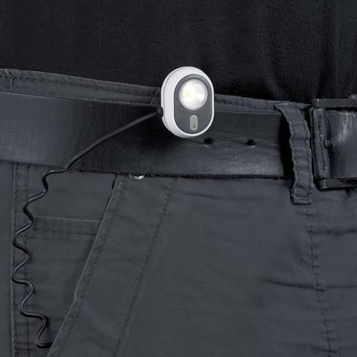 LED-es fejlámpa, elemes, szürke, Alpina Sport AS01 3.7211