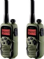 Topcom PMR rádió, adó-vevő 2 részes készlet, headsettel Topcom Twintalker 9500 Airsoft Edition RC-6406 Topcom