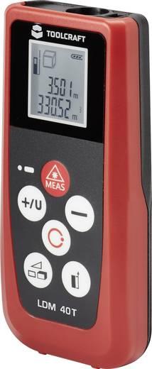 Lézeres távolságmérő max.40m-ig Toolcraft LDM 40T