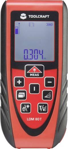 Lézeres távolságmérő max.80m-ig Toolcraft LDM 80T