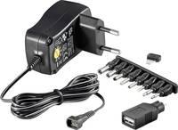 Univerzális hálózati adapter, dugasztápegység 3-12 V/DC 300 mA 3,6 W Goobay 54793 Goobay