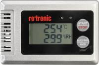 Hőmérséklet adatgyűjtő, Légnedvesség adatgyűjtő rotronic HL-1D-SET Mérési méret Hőmérséklet, Légnedvesség Kalibrált Gyár (HL-1D-SET) rotronic