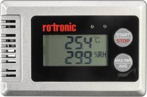 Helyiségklíma adatgyűjtő, levegő hőmérséklet és páratartalommérő adatgyűjtő rotronic HL-1D-SET rotronic