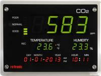 rotronic CO2-Display Széndioxid mérő 0 - 5000 oldal/perc rotronic