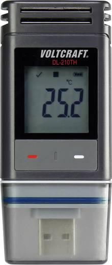 USB-s levegő hőmérséklet és páratartalommérő adatgyűjtő Voltcraft DL-210TH