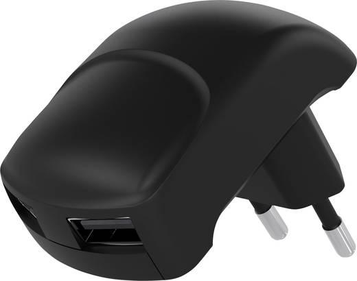 USB-s töltőkészülék Aljzat dugó Goobay 63790 2 x USB Kimeneti áram (max.) 2100 mA