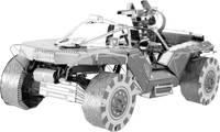 Metal Earth Halo UNSC Warthog katonai jármű makett, 3D lézervágott fémmodell építőkészlet 502695 (502695) Metal Earth