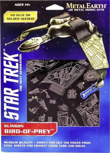 Metal Earth Star Trek Bird of Prey Klingon űrhajó 3D lézervágott fémmodell építőkészlet 502674