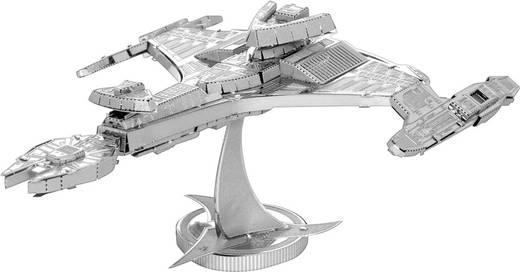 Metal Earth Star Trek Klingon Vorcha űrhajó 3D lézervágott fémmodell építőkészlet 502676