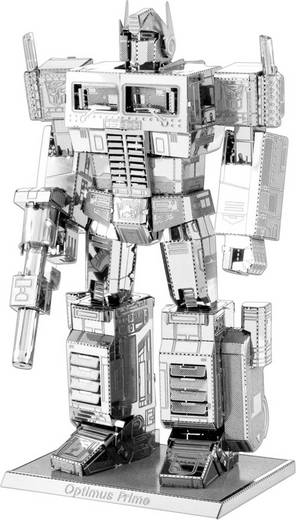 Metal Earth Transformers Optimus Prime 3D lézervágott fémmodell építőkészlet 502684