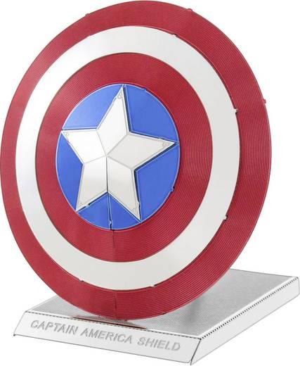 Metal Earth Marvel Avangers Amerika Kapitány pajzs 3D lézervágott fémmodell építőkészlet 502641