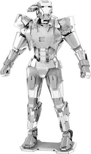 Metal Earth Marvel Avangers War Machine 3D lézervágott fémmodell építőkészlet 502643