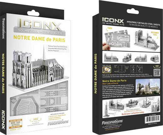 Metal Earth Pisa-i ferde torony 3D lézervágott fémmodell építőkészlet 502862