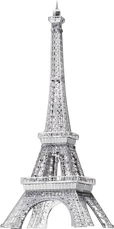 Eiffel torony 3D lézervágott fémmodell építőkészlet, Metal ...