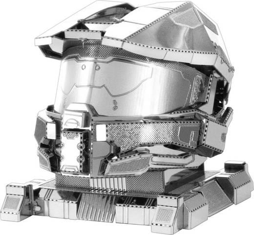 Metal Earth Halo Master Chief Helmet sisak 3D lézervágott fémmodell építőkészlet 502694