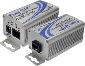 Hálózati hosszabbító Renkforce 2 drótos Hatótáv (max.): 500 m 100 Mbit/s Renkforce