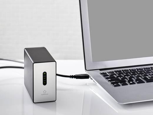 """SATA merevlemez ház, 2,5 """" renkforce RAB237JU3 USB 3.0"""