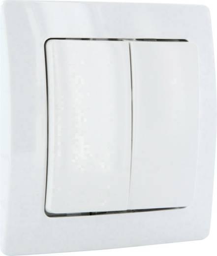 Vezeték nélküli fali kapcsoló, Schwaiger Home Automation ZHS03