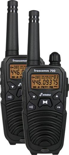 PMR adó-vevő készlet, Stabo Freecomm 700 20701