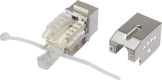 RJ45 beépíthető modul reteszeléssel, Keystone CAT 6, renkforce KSV10