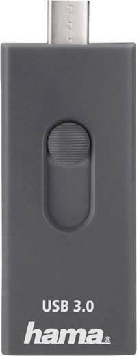 USB-C kártyaolvasó, okostelefon, tablet adatolvasó Hama 124145