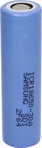 Speciális li-ion akku 18650 3,7 V 2850 mAh Samsung ICR18650-30A