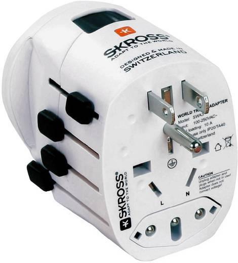 Univerzális konnektor átalakító úti adapter, PRO Skross 1.103170