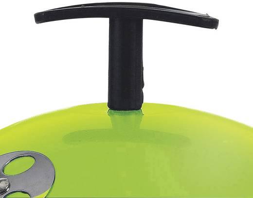 Faszenes grillsütő, asztali gömbgrill 290mm almazöld színű tepro Crystal 1096N