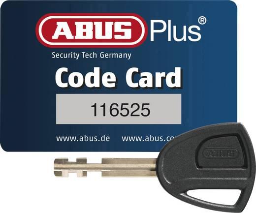 Kódkártyás kerákpár lakat, fekete, ABUS 51/150HB230 + Eazy KF