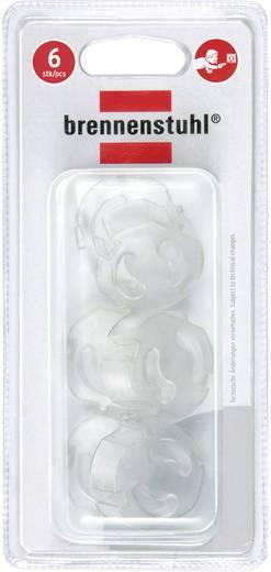 Gyermekvédő konnektor vakdugó készlet, átlátszó, Brennenstuhl 1164480