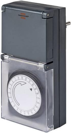 Konnektorba dugható analóg időkapcsoló, kültéri, napi program, Brennenstuhl 1506460 IP44