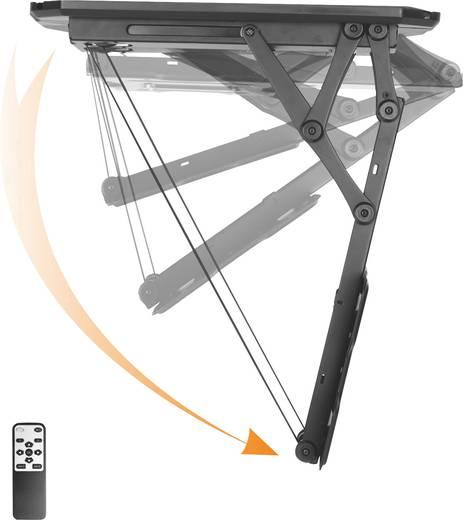 """Motoros mennyezeti TV tartó, távirányítóval, 58,4 cm (23"""") - 139,7 cm (55""""), dönthető, SpeaKa Professional"""
