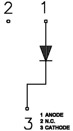 LED, alacsony fogyasztású, LYS269-BO/=KM 23 LYD-F