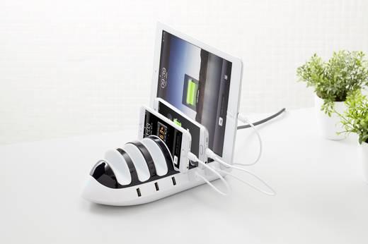 USB-s töltőállomás 6 készülékhez, 2400 mAh, 110 ‑ 240 V, VOLTCRAFT CT-6 4268c11