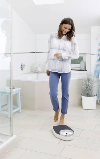 Analóg személymérleg max. 150 kg, fekete/fehér, Medisana PSD