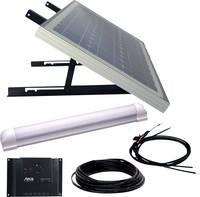 Phaesun SUPER ILLU ONE 600300 Napelemes berendezés 30 Wp Csatlakozókábellel, Töltésszabályozóval, LED-es lámpával Phaesun