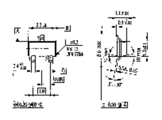 SMD tranzisztor BF 820 SOT-23