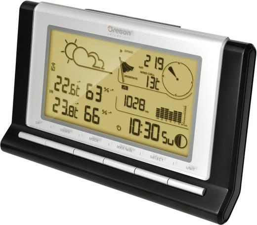 Profi vezeték nélküli időjárásjelző állomás, fekete/ezüst, Oregon Scientific WMR89