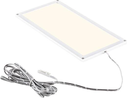 LED panel 9 W Melegfehér Heitronic Fino 27014, fehér