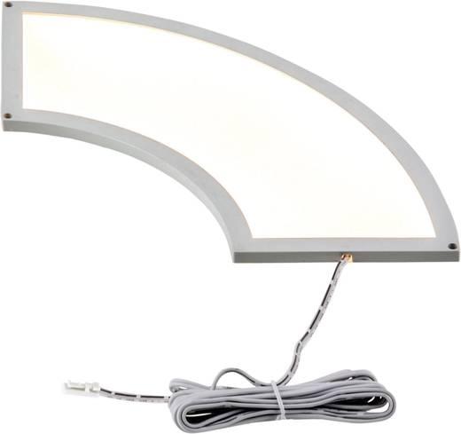 LED panel 7 W Melegfehér Heitronic Fino 27016, fehér